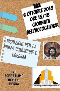 Avvio iscrizioni al catechismo