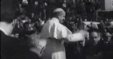 Papa Paolo VI alla Montagnola 15/02/1966